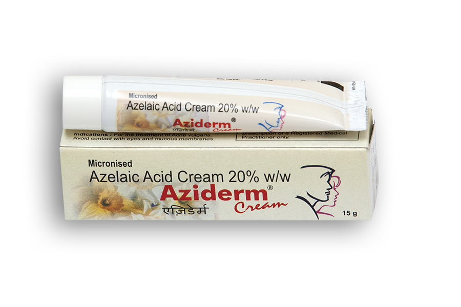 Azelaic Acid 20% WW Aziderm Cream