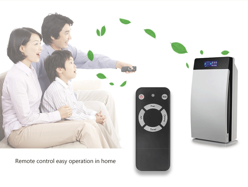 room use Ionic air purifier for office odor remove
