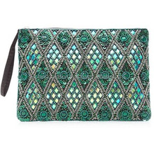 Green Beaded New design Fashion wholesale Women's s handbags