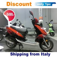(Discount) 2016 new cheap gas scooter for sale low cost 49cc EEC COC new design (Gatto)