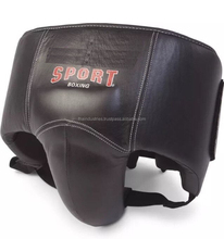 Kidney Guard Leather Mexican Style Professional Boxing Abdominal Protector For Men, Gents