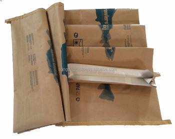 Vietnam supplier large quantity laminated pp woven kraft paper bag