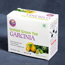 Green tea Garcinia Tea sticks