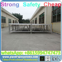 truss fabrication aluminum display glass stage truss