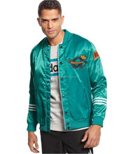 stin varsity jacket / satin body and fleece sleeve /latest design wholesale satin jacket