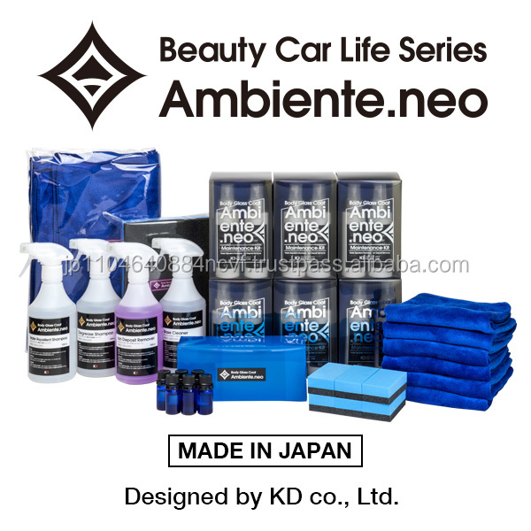 Ambiente.neo silica-based body glass coat car products , maintenance kit available