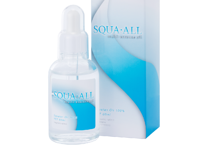 100% pure squalene squalane oil, Restraining skin from lipid peroxide, Penetrating into the skin effectively