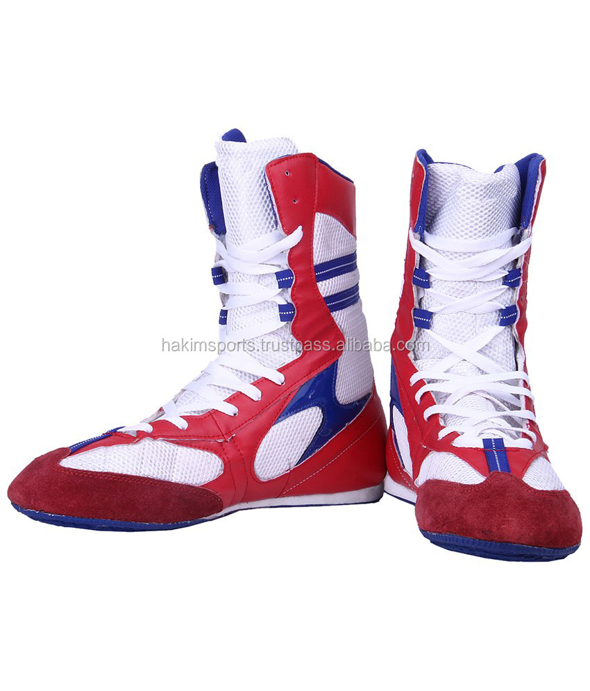 Cheap Boxing Leather Shoes