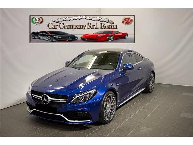 MERCEDES AMG C 63 BLUE METALLIC