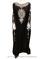 Wedding Abaya, Hand Embroidered Abaya , Party Abaya/Kaftan