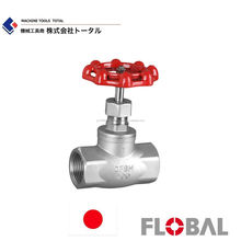 FLOBAL Stainless steel stop valve Made in Japan