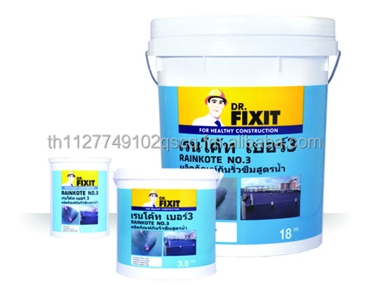 ASTM D1227-87 Type III General Purpose Waterproofing Bitumen Emulsion Dr.Fixit Rainkote No.3