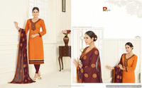 Georgette with heavy work with Border salwar kameez