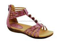 LEATHER LADIES FANCY SANDALS