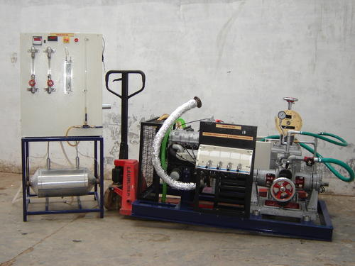 Variable Compression Ratio Computerized Diesel Engine Test Rig