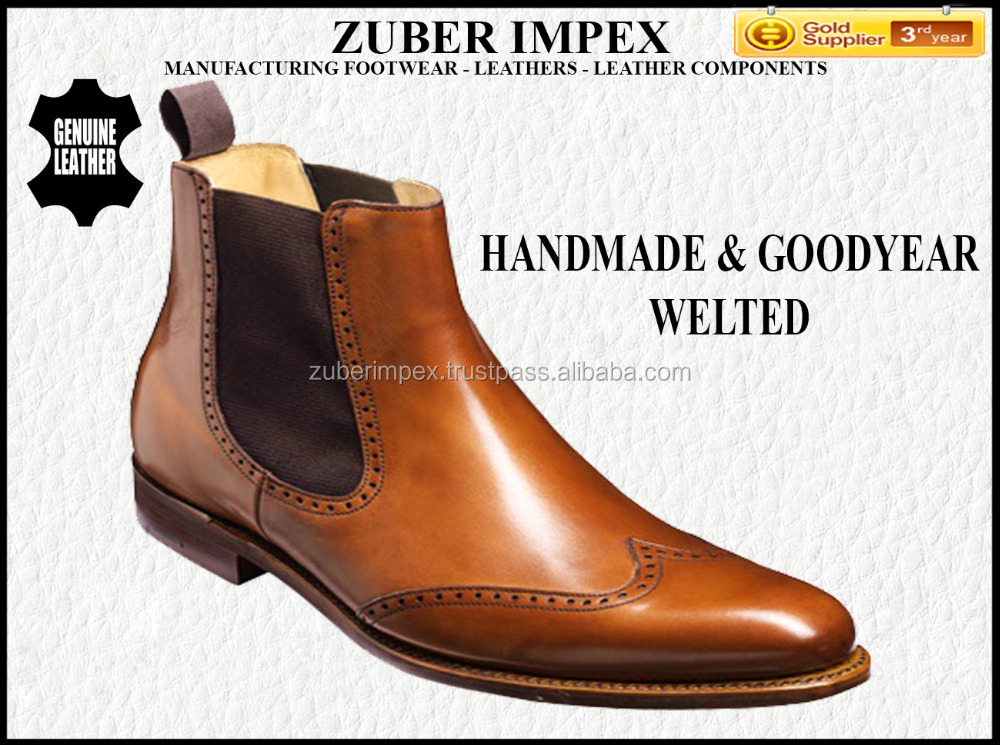 Chelsea Shoes for men - Chelsea Boots for Men - High quality Shoes - Bespoke Shoe makers - GoodYear Welted Shoe manufacturers