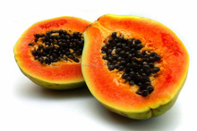 Fresh Tropical Orange Papaya