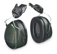 Cap-Mounted Ear Muff 24dB Dark Green