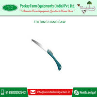 Folding Hand Saw with High Carbon Steel, Hard Chrome Plating