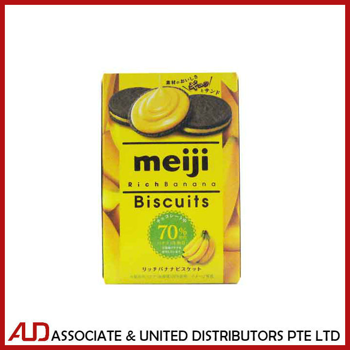 Meiji Rich Banana Biscuit 50g