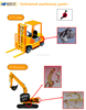 Various types of durable small agriculture machinery parts