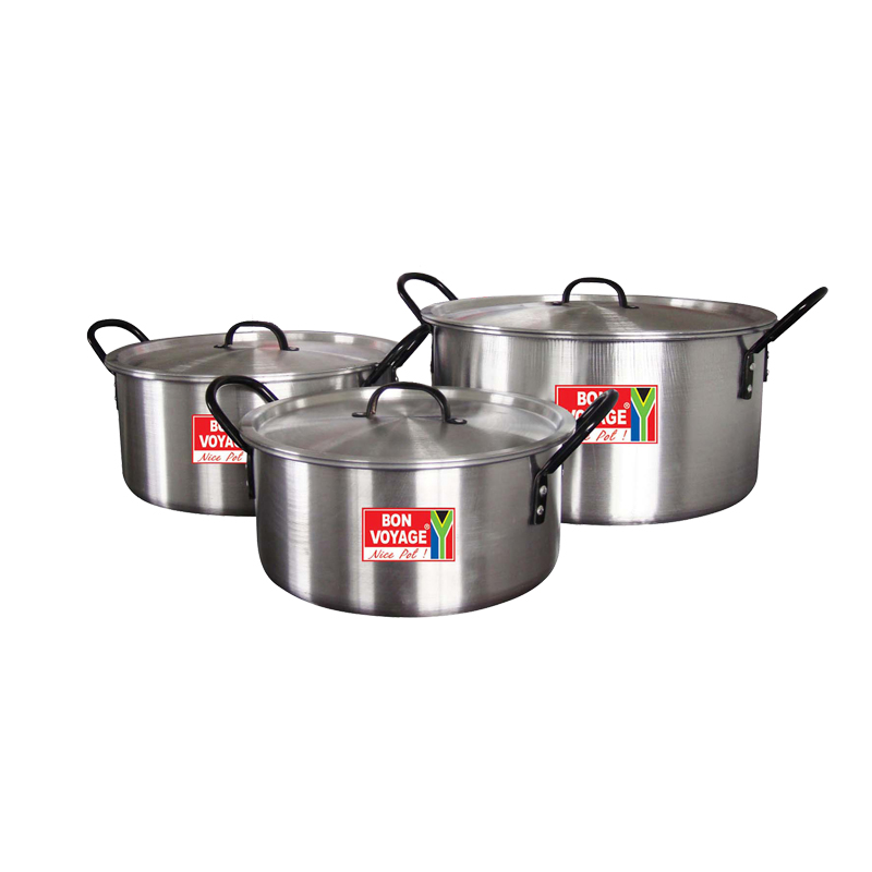 Bon Voyage Aluminium LC3 8LT 13LT 21LT Series Catering Individual Pot and Pots Set