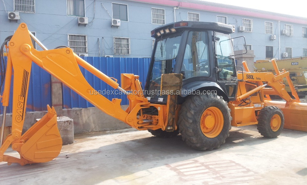 Used Backhoe loader Case 580L, used Case Backhoe loader 580L for sale