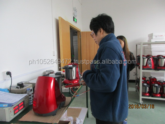 Pre-Shipment Inspection for Blender in China