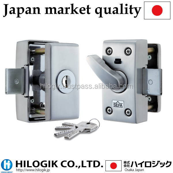 Japanese manufacture lock HINAKA brand Traditional quality Security door locks with dimple cylinder key HDS-3000D made in Japan