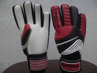 Maroon/White/Black Goalkeeper Gloves