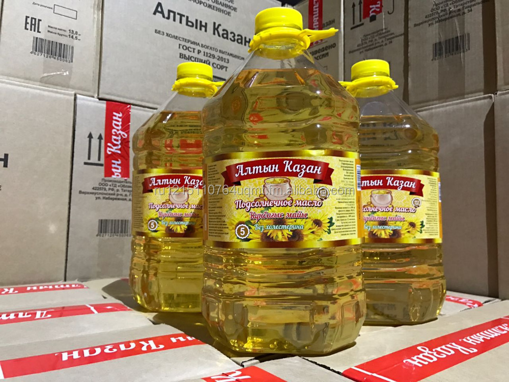 Refined Sunflower cooking oil (Russia)