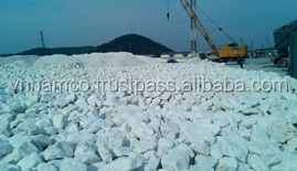 Calcium carbonate stone ,calcite stone from super fine quarry in Vietnam