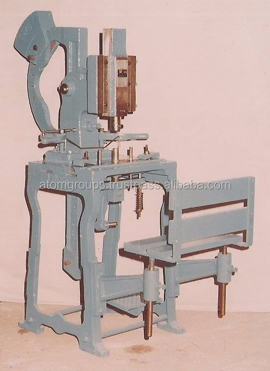 Atom Brand Foot Operated Soap Stamping Equipment