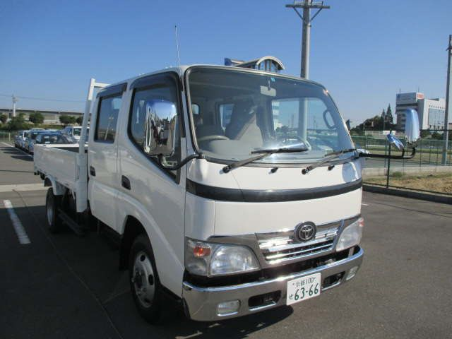 Good condition used toyota dyna double cab for industrial use