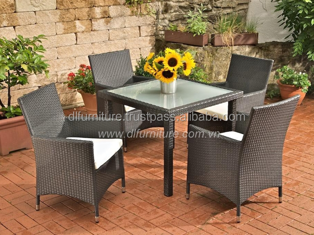 outdoor garden metal folded mosaic furniture 339