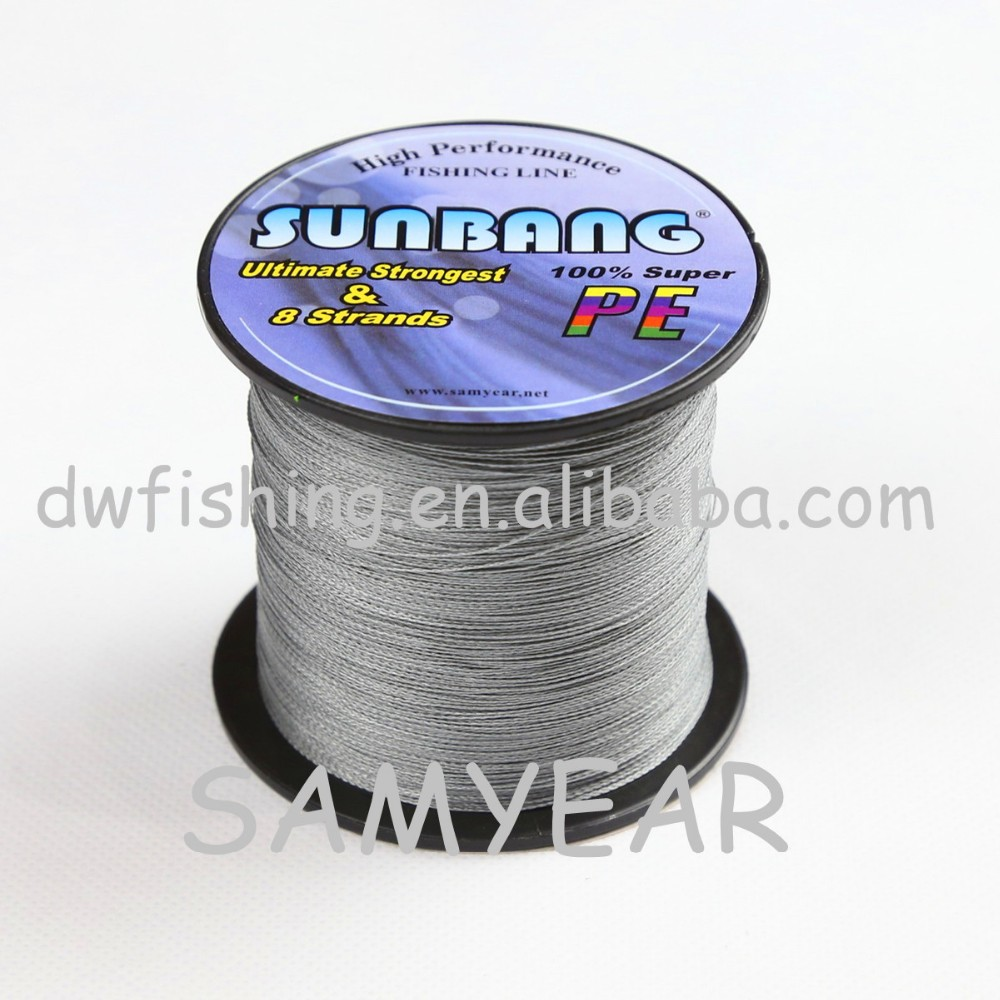 8 Strands Stock Reel Steel Braided Sport PE fishing line