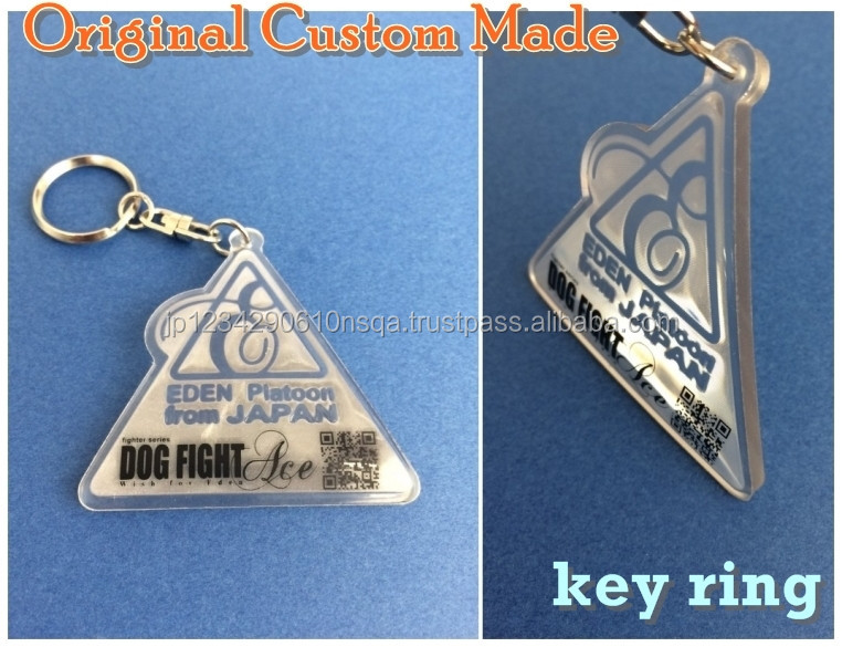 Colorful high quality PVC key chain suitable for gifts , leather goods also available