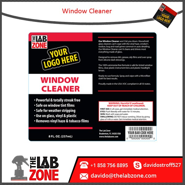 Powerful and Streak Free Window Glass Cleaner at Affordable Rate