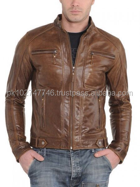 Lambskin Leather Biker Jacket is the best jacket at our bikers section ,the Cruise biker Jacket for men