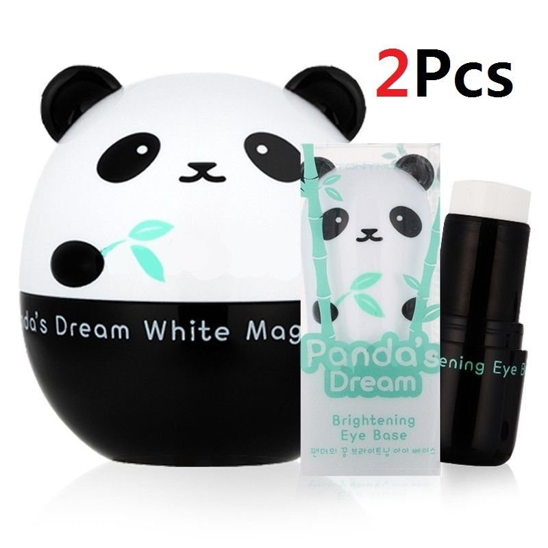 Tonymoly Shiny Foot STonymoly Panda's Dream White Magic Cream + Eye Base uper Peeling Liquid 1 Pair (25ml * 2)- Korean Cosmetics
