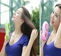Portable facial korean mini personal handheld Cooling sleeping air freshner humidifier mask