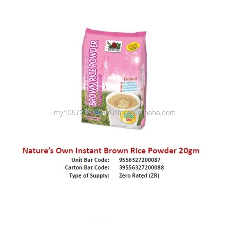 Nature's Own Instant Brown Rice Powder 20gm