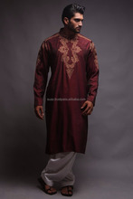 Embroidered Designer Kurtas Men Eastern wear , Designs For gents kameez, Embroidery Designs For Men ,