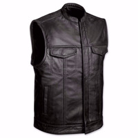 New Handmade Mens Son Of Anarchy Real Leather Motorcycle