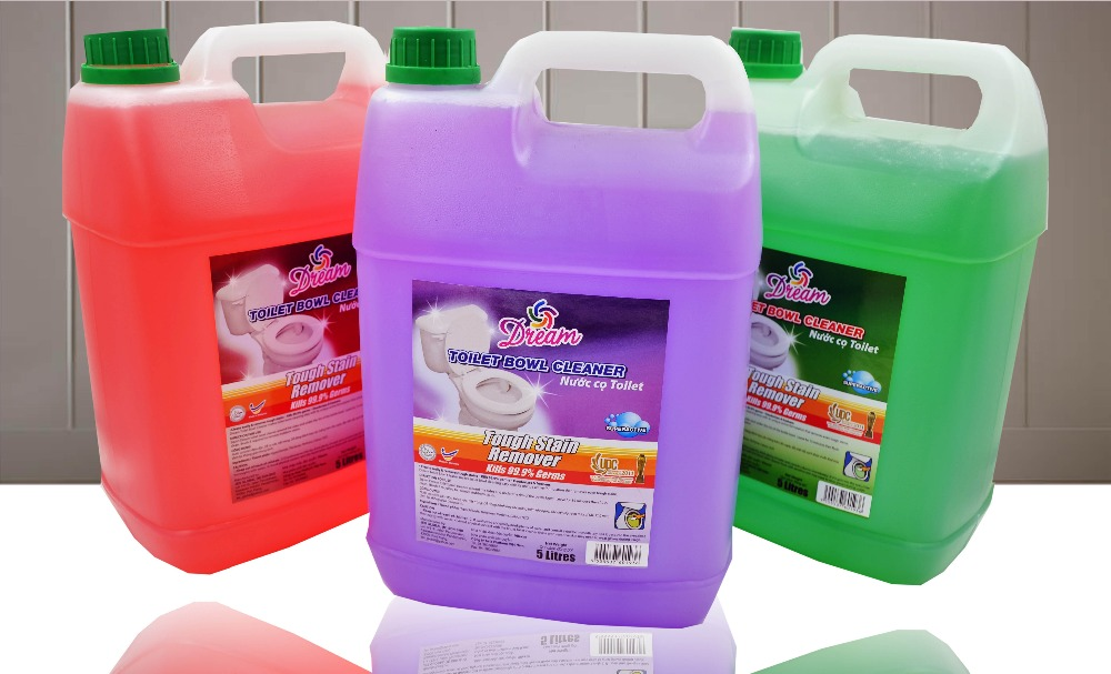 Dream Toilet Bowl Cleaner, Tough Stain Remover - 5Liter