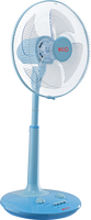New Mordern 16 inch electric stand fan with remote control made in Viet Nam