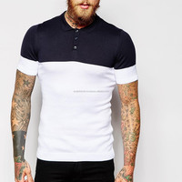 Mens Polo Shirts In Colour Block