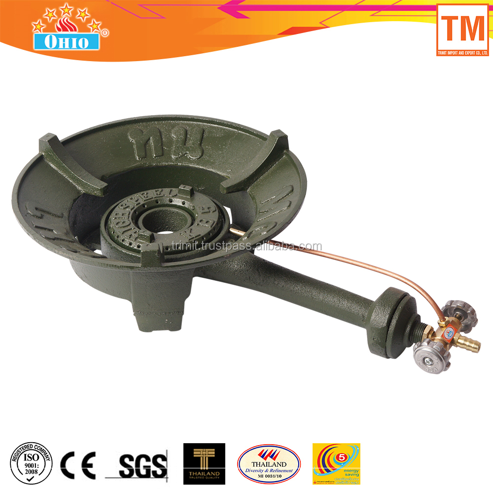 Cast iron high pressure gas stove OH-KB5 MCP