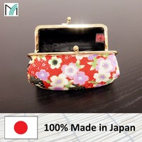 made in japan cosmetic makeup pouch bag and many other high quality chirimen products