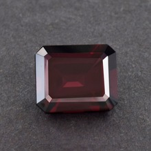 Best Quality Top Grade Octagon Shape Loupe Clean Raspberry Red Rhodolite Garnet 7.41 ct Garnet gemstones
